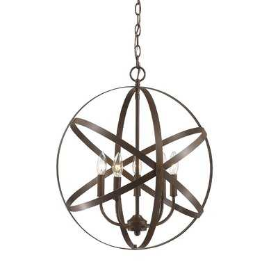Della 5-Light Globe Chandelier - Wayfair