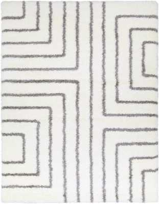 "Cloudy Shag 7'10"" x 10'3"" Area Rug - Neva Home"