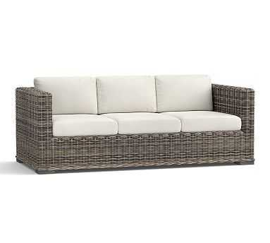 Huntington Square-Arm Sofa - Gray - Pottery Barn