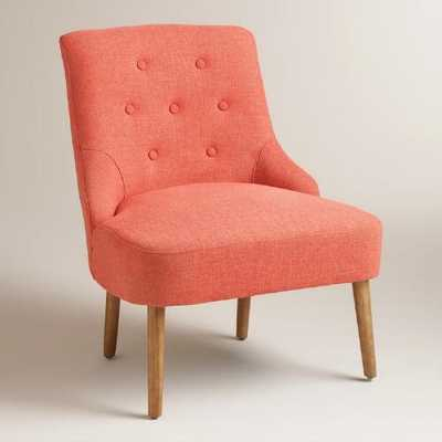 Orange Teaghan Chair - World Market/Cost Plus