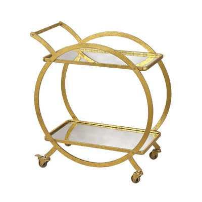Tryphosa Bar Cart - AllModern