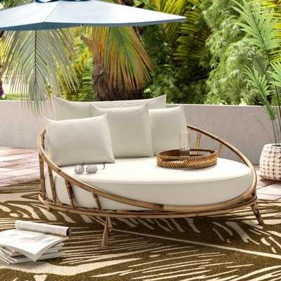 Olu Patio Daybed with Cushions - AllModern