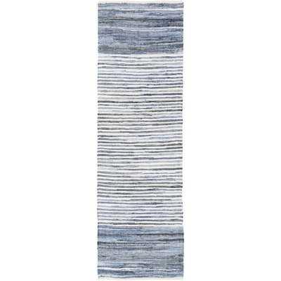 Phillips Cotton Blue/Navy Area Rug - AllModern