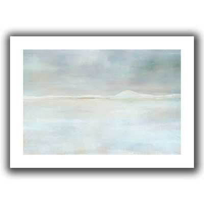 Landscape Snow' by Cora Niele Photographic Print on Rolled Canvas - Wayfair