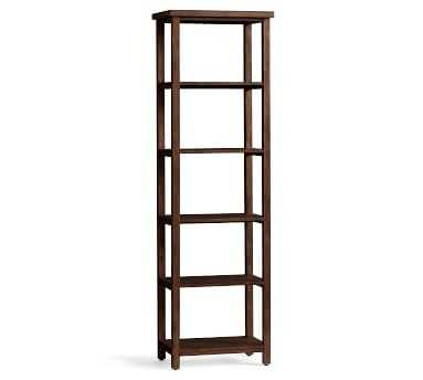 Mateo Entryway Bookcase, Salvaged Black - Pottery Barn