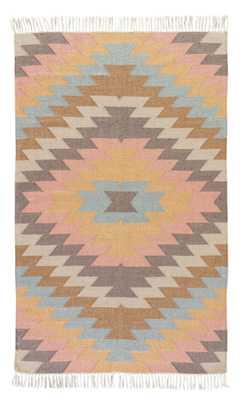 Mojave Indoor/ Outdoor Geometric Multicolor Area Rug (8' X 10') - Collective Weavers