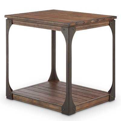 Aradhya Wood End Table - Wayfair