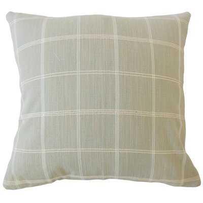 Melendez Plaid Pillow - Wayfair