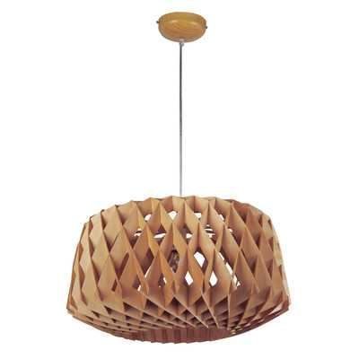 Melora 1-Light Single Geometric Pendant - AllModern