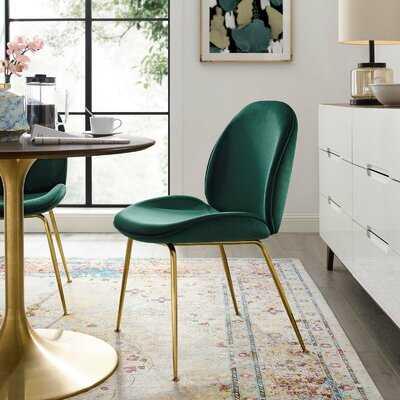 Jaynes Leg Performance Upholstered Dining Chair - Wayfair