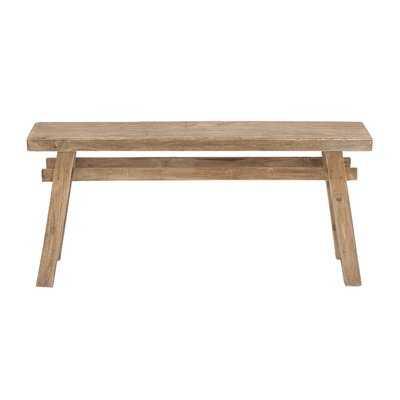 Wooden Bench - Birch Lane