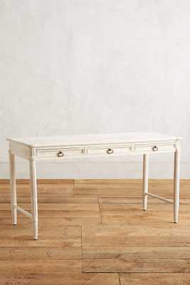 Washed Wood Desk - Anthropologie