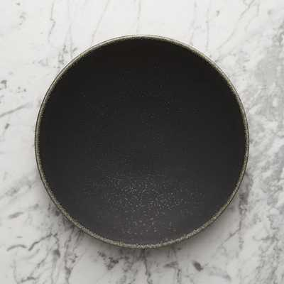 Jars Tourron Black Dinner Plate - Crate and Barrel