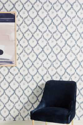 Abstract Ikat Wallpaper - Anthropologie