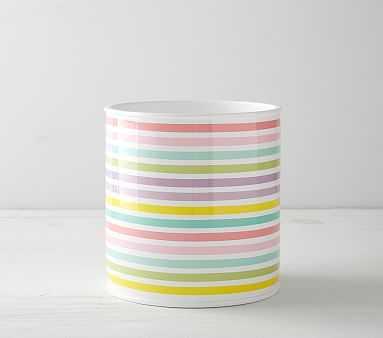 Rainbow Bath Accessories, Trash Bin - Pottery Barn Kids