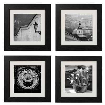 'Beauty of Prague' 4 Piece Framed Photographic Print Set - Wayfair