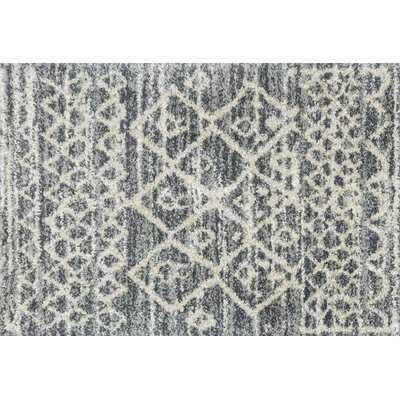 Palmquist Graphite/Beige Area Rug - Wayfair