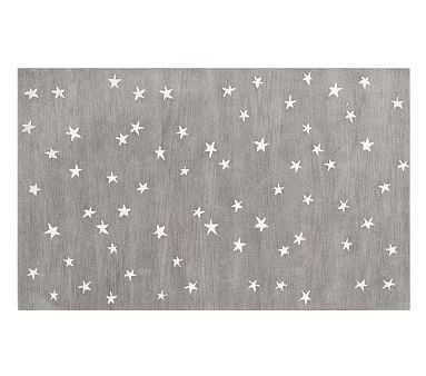 Starry Skies Rug, 3x5', Gray - Pottery Barn Kids