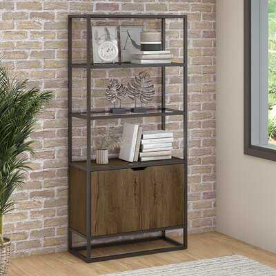 Hartley 5 Shelf Standard Bookcase - Wayfair