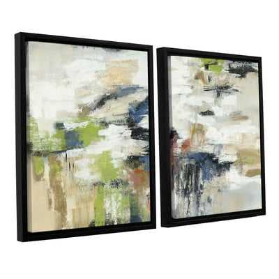 Highline View 2 Piece Framed Painting Print on Canvas Set - Wayfair