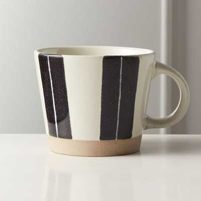 Open Lane White Clay Mug - CB2