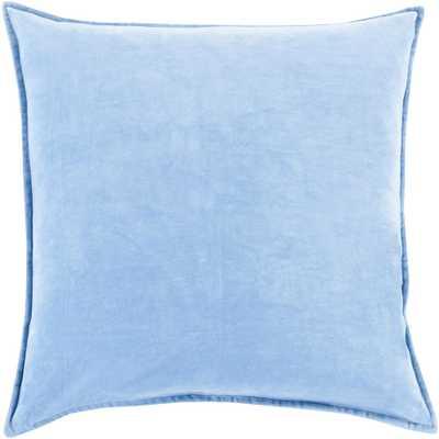 Velizh Poly Standard Pillow, Light Blue - Home Depot