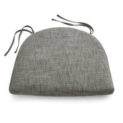 Maluku Grey Dining Side Chair Cushion - Crate and Barrel