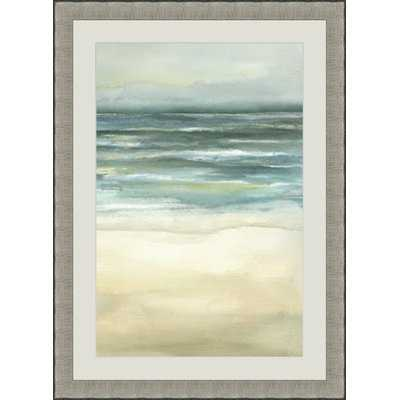 'Sea III 'Picture Frame Graphic Art - Birch Lane
