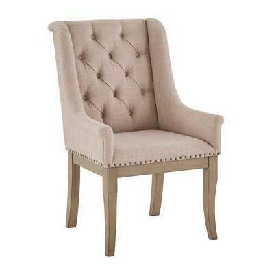 Gerald Upholstered Dining Chair (set of 2) - Wayfair