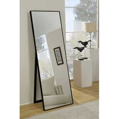 Traub Standing Modern & Contemporary Beveled Full Length Mirror - Wayfair