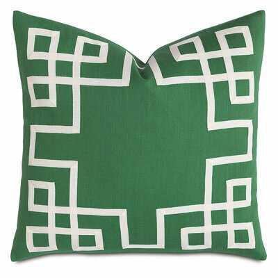 Barclay Butera Linen Throw Pillow- Kelly Green - Wayfair