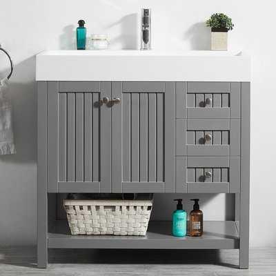 "Harward 35"" Single Bathroom Vanity Set - AllModern"