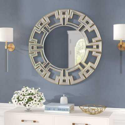 Tata Openwork Round Wall Mirror - Wayfair