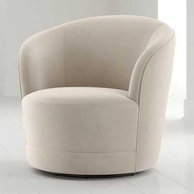 Infiniti Swivel Chair - Crate and Barrel
