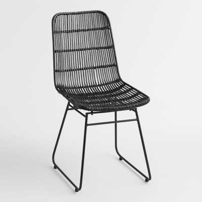 Black Wicker Emily Chair by World Market - World Market/Cost Plus