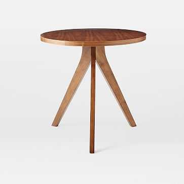 Tripod Table, Walnut - West Elm