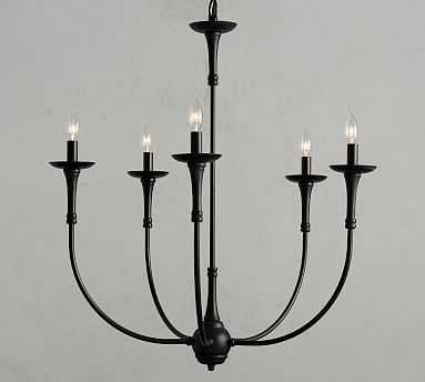 Jerome Chandelier, Bronze/Iron - Pottery Barn