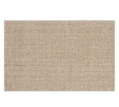 Chunky Natural Wool & Jute Rug, 9 x 12', Natural - Pottery Barn