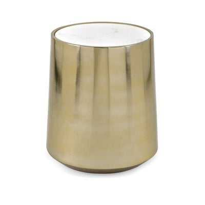 Rosenbloom Metal and Marble Tray Table - Wayfair