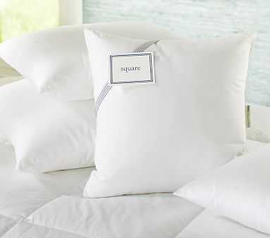 Decorative Pillow Insert, 20x20in, White - Pottery Barn Kids