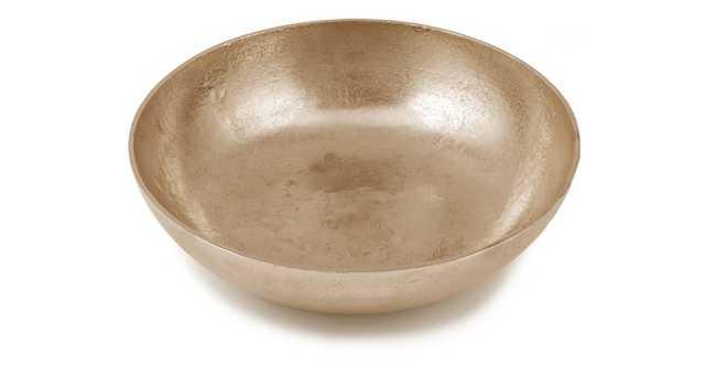 """Sabla Gold 17"""" Bowl - Article"""