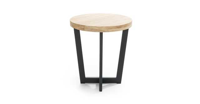 Toba Natural Teak Side Table - Article