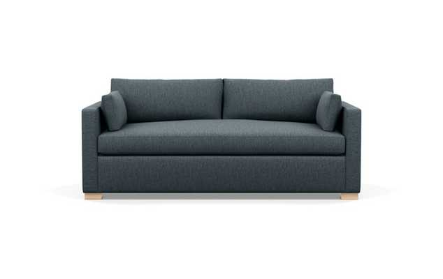Charly Sofa with Rain Fabric, Natural Oak legs, and Bench Cushion - Interior Define
