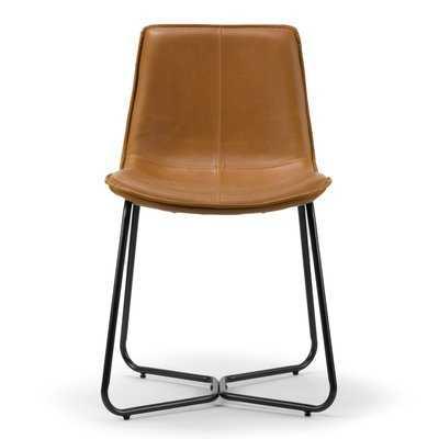 Burke Upholstered Dining Chair- set of 2 - AllModern
