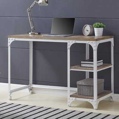 Clubb Industrial Writing Desk - Wayfair