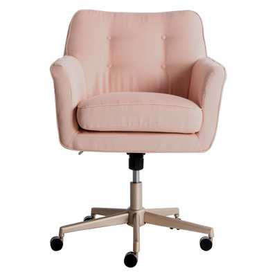 Style Ashland Home Office Chair Party Blush Pink - Serta, Blushing - Target
