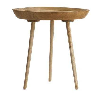 Takara Tall Round End Table - Wayfair