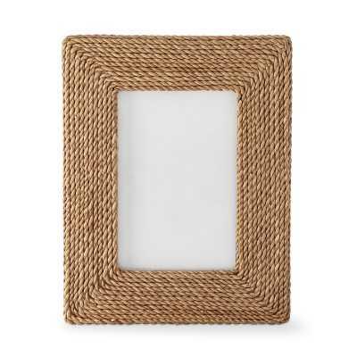 """Point Reyes Seagrass Frame, 4"""" X 6"""" - Williams Sonoma"""