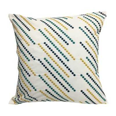Constantine Embroidered Throw Pillow - Wayfair