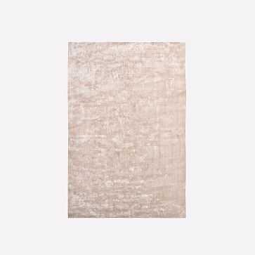 Lucent Rug, Dusty Blush, 6'x9' - West Elm
